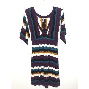 American Rag chevron Sweater dress Size XS